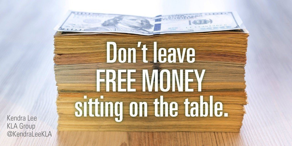 Dont Leave Free Money