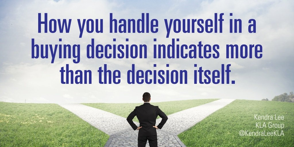 Handling Yourself with Decisions