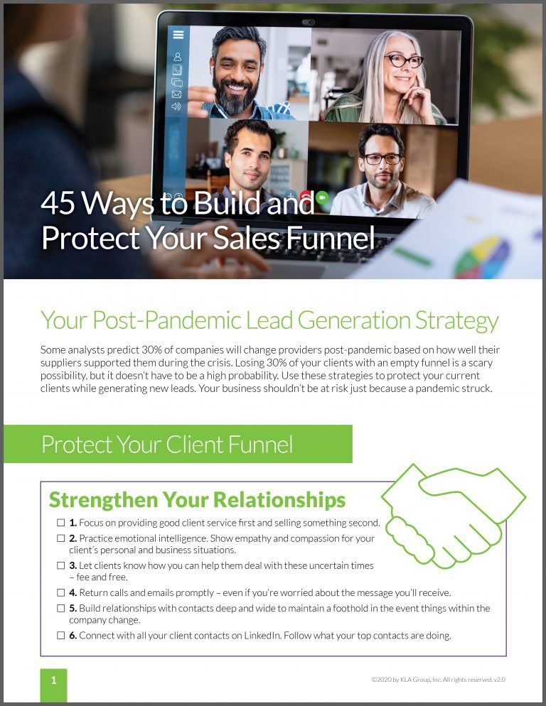 Guide to build and protect your sales funnel