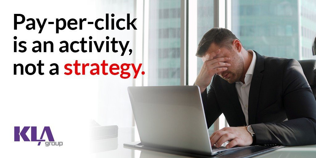 Man discouraged by PPC as lead gen strategy